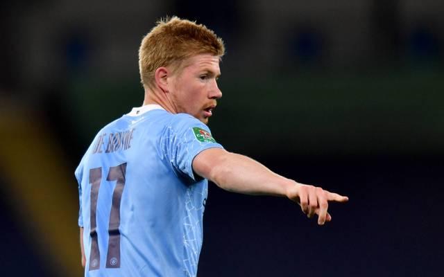 Kevin De Bruyne steht bis 2023 bei Manchester City unter Vertrag