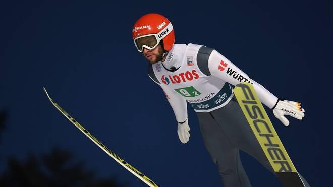 Markus Eisenbichler landete beim dritten Skifliegen in Oberstdorf auf Rang zehn