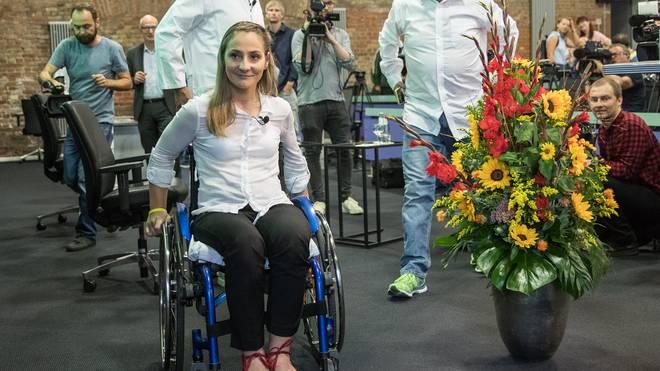 Kristina Vogel ist nach einem Unfall querschnittsgelähmt