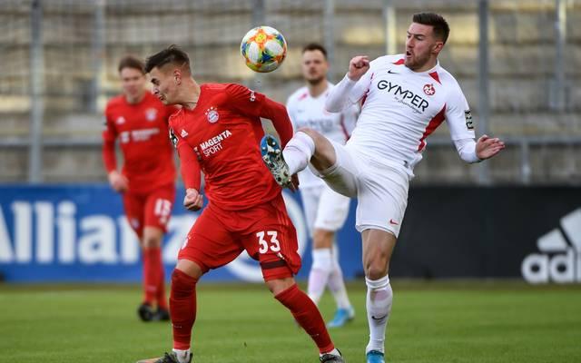 """Die zweite Mannschaft des FC Bayern muss sich den """"Roten Teufeln"""" geschlagen geben"""