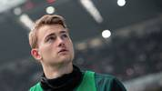 TURIN, ITALY - FEBRUARY 16:  Matthijs de Ligt of Juventus looks on during the Serie A match between Juventus and Brescia Calcio at Allianz Stadium on February 16, 2020 in Turin, Italy.  (Photo by Emilio Andreoli/Getty Images)