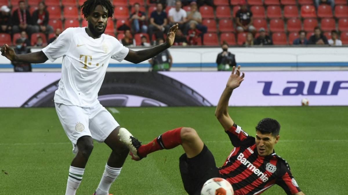 Leverkusen muss vorerst auf Exequiel Palacios (r.) verzichten