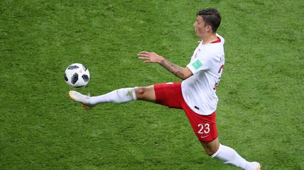 Dawid Kownacki stand bei der WM 2018 im polnischen Kader