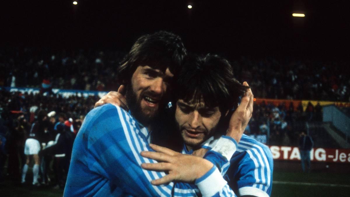 Wolfgang Funkel und Matthias Herget hießen einst die Stars bei Uerdingen