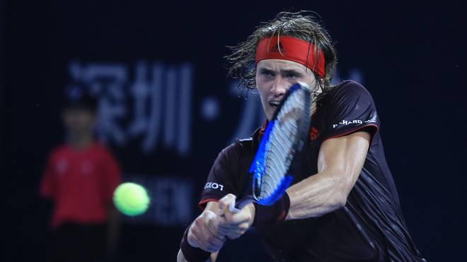 Alexander Zverev beim ATP-Turnier in Shenzen