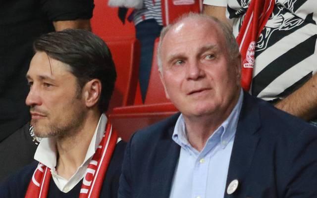 Niko Kovac (l.) scheint beim FC Bayern nicht mehr unantastbar