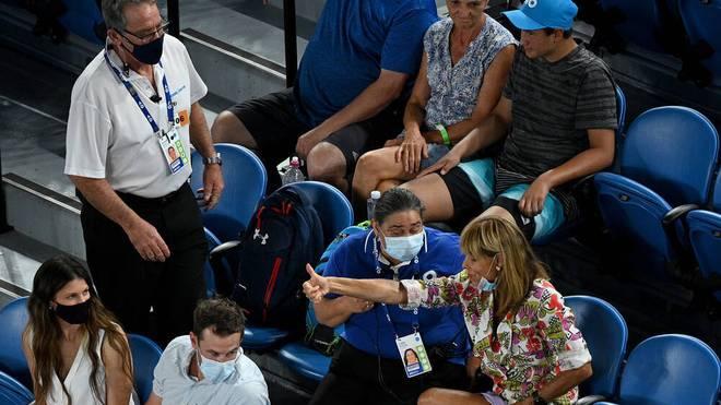 Eine Zuschauerin pöbelte bei den Australian Open gegen Rafael Nadal