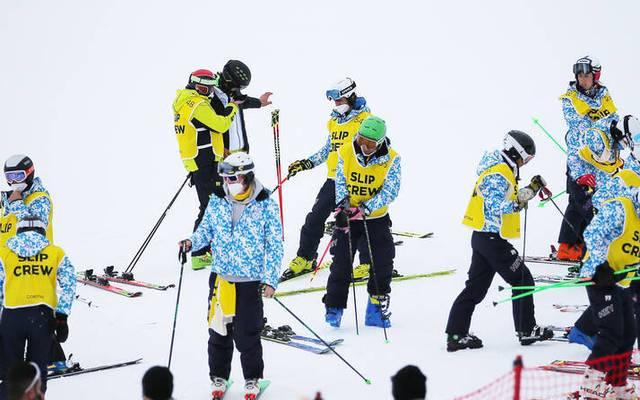 Der Super-G der Frauen bei der Ski-WM konnte nicht ausgetragen werden