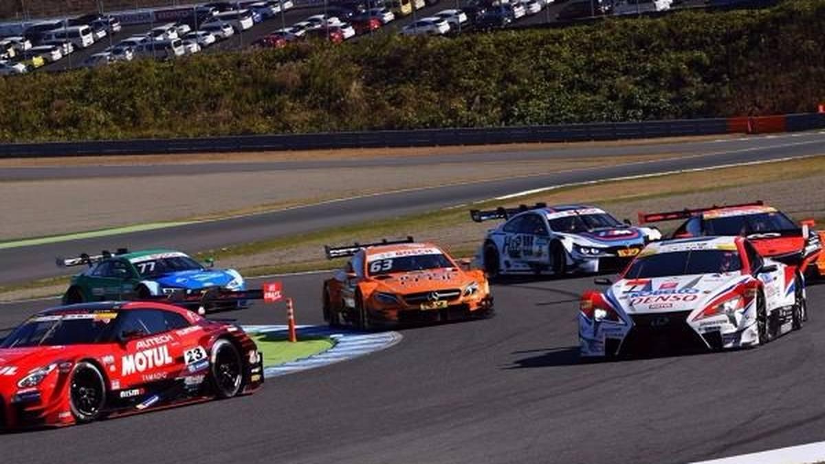 Mercedes war beim DTM-Showrun in Motegi dabei