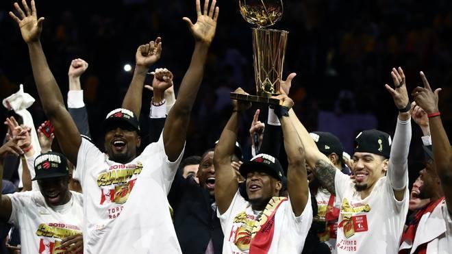 NBA, Finals, Toronto Raptors Nach einem langen Weg sind die Toronto Raptors endlich am Ziel ihrer Träume. Großen Anteil daran hatte auch die kluge Transferstrategie