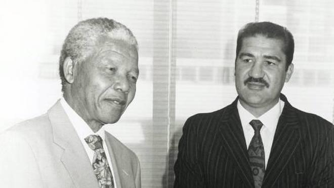 Gerrie Coetzee wurde von Nelson Mandela geehrt