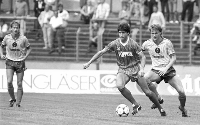 Joachim Löw (l.) bestritt 263 Spiele für den SC Freiburg