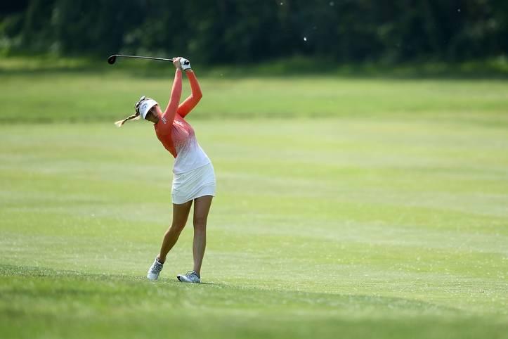 Es läuft derzeit rund für Sandra Gal. Die deutsche Golferin überzeugt auf der US-Tour in Arkansas mit Platz drei - das beste Saisonresultat für die 33-Jährige