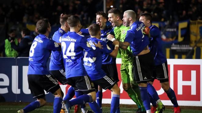 Der 1.FC Saarbrücken will gegen Bayer Leverkusen Geschichte schreiben