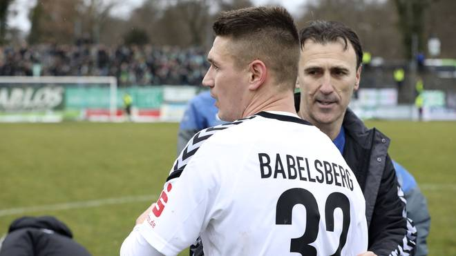 Daniel Frahn spielt mittlerweile bei Babelsberg