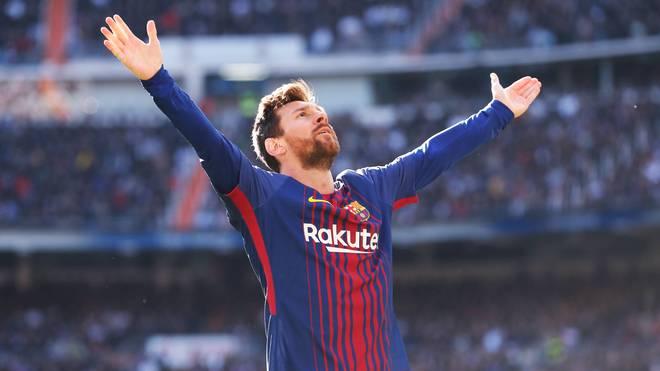 Lionel Messi im Jahr 2017