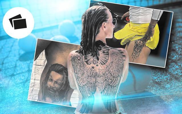 SPORT1 zeigt die Tattoos der Tennis-Stars