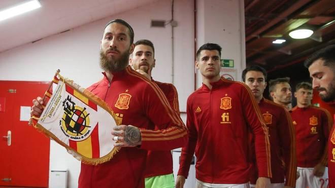 Die spanische Nationalmannschaft musste in Tiflis bei Handy-Licht duschen