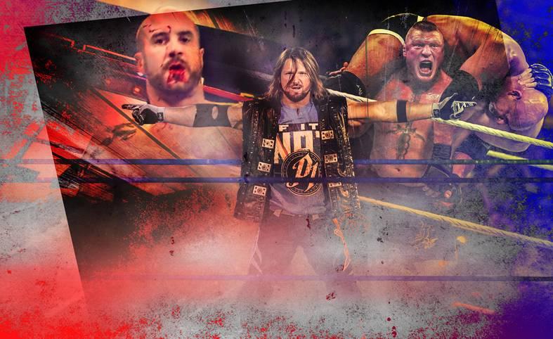 """Das WWE-Jahr 2017 ist beendet, zahlreiche Fights, die auf die eine oder andere Art denkwürdig waren, hat die weltgrößte Wrestling-Liga geliefert. Welche waren die besten, welches das """"Match of the Year""""? Über 5000 SPORT1-User haben abgestimmt - hier ist das Ergebnis"""