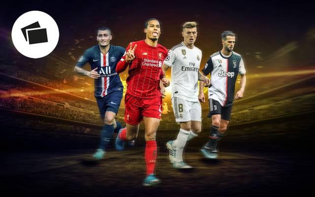Die wichtigsten Spieler der internationalen Top-Klubs
