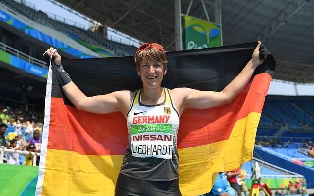 Franziska Liebhardt kann wieder nach vorne blicken