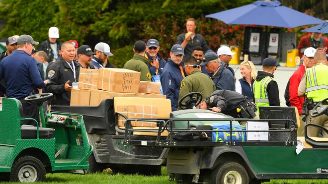 US Open: Golf-Cart verletzt fünf Personen an Tag 2 in Pebble Beach