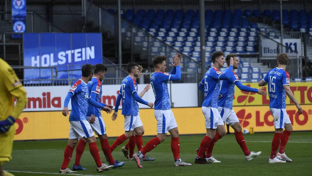 Holstein Kiel fegte St. Pauli vom Platz