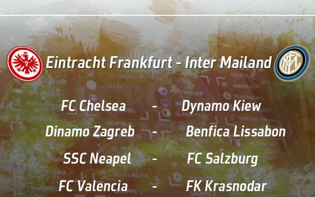 Europa League, Eintracht Frankfurt, Inter Mailand