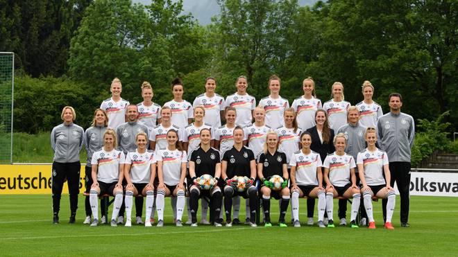 Der deutsche Kader bei der Frauen-WM in Frankreich