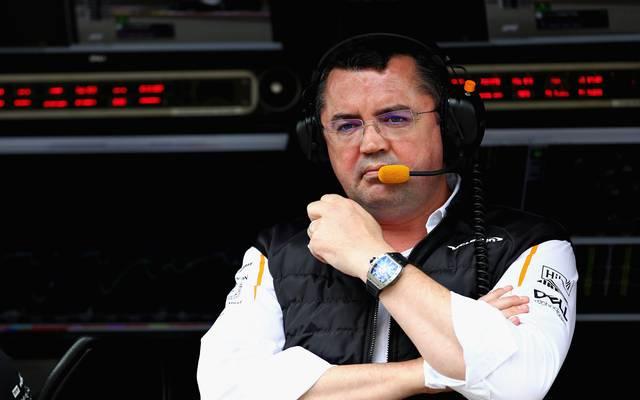 Eric Boullier tritt als Renndirektor bei McLaren zurück