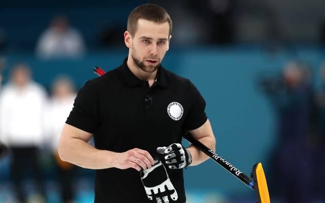 Der russiche Curler Alexander Kruschelnizki wurde des Dopings überführt