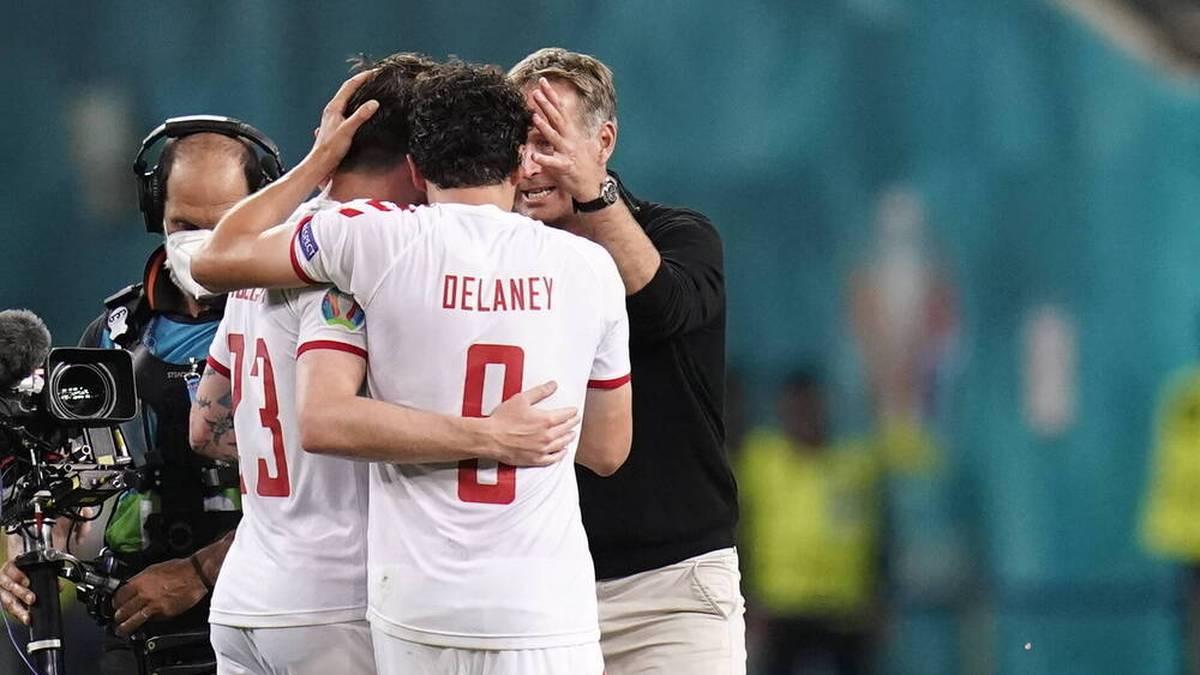 Thomas Delaney ebnete Dänemarks Weg ins Halbfinale