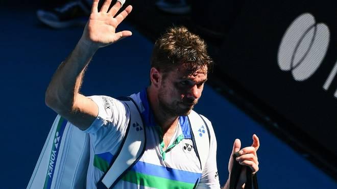 Für Stan Wawrinka sind die Australian Open frühzeitig beendet