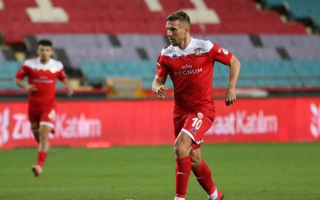 Lukas Podolski traf für Antalyaspor