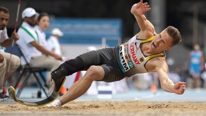 Markus Rehm bei der Para-WM in Dubai 2019