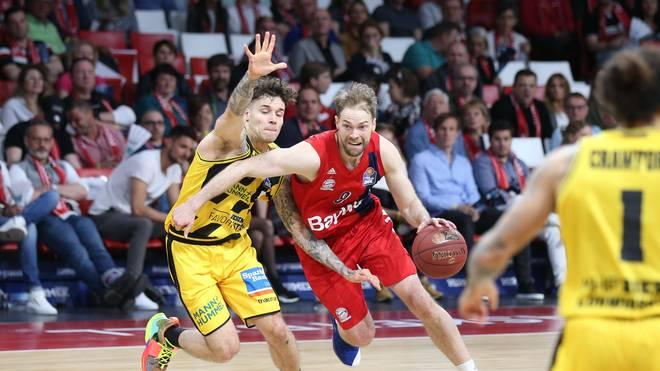 Petteri Koponen steht mi den Bayern-Basketballern bereits in den Playoffs