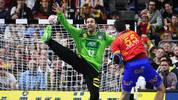 Silvio Heinevetter zeigte gegen Spanien eine starke Leistung