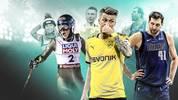 Doch nicht nur im Fußball gibt es Spieler, die krank noch gezaubert haben. SPORT1 zeigt die Sportler und Sportlerinnen, die trotz Krankheit an ihre Limits gegangen sind