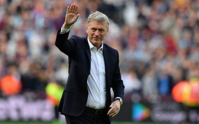 Trainer David Moyes ist zurück bei West Ham United