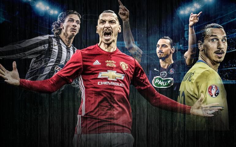 Zlatan Ibrahimovic' Karriere ist eine einzige Erfolgsstory. Der Schwede erzielt Traumtore, stellt Rekorde auf, gewinnt Meisterschaften - nur der Champions-League-Titel fehlt ihm noch. Jetzt kehrt er zu Manchester United zurück. SPORT1 zeigt seine Karriere in Bildern