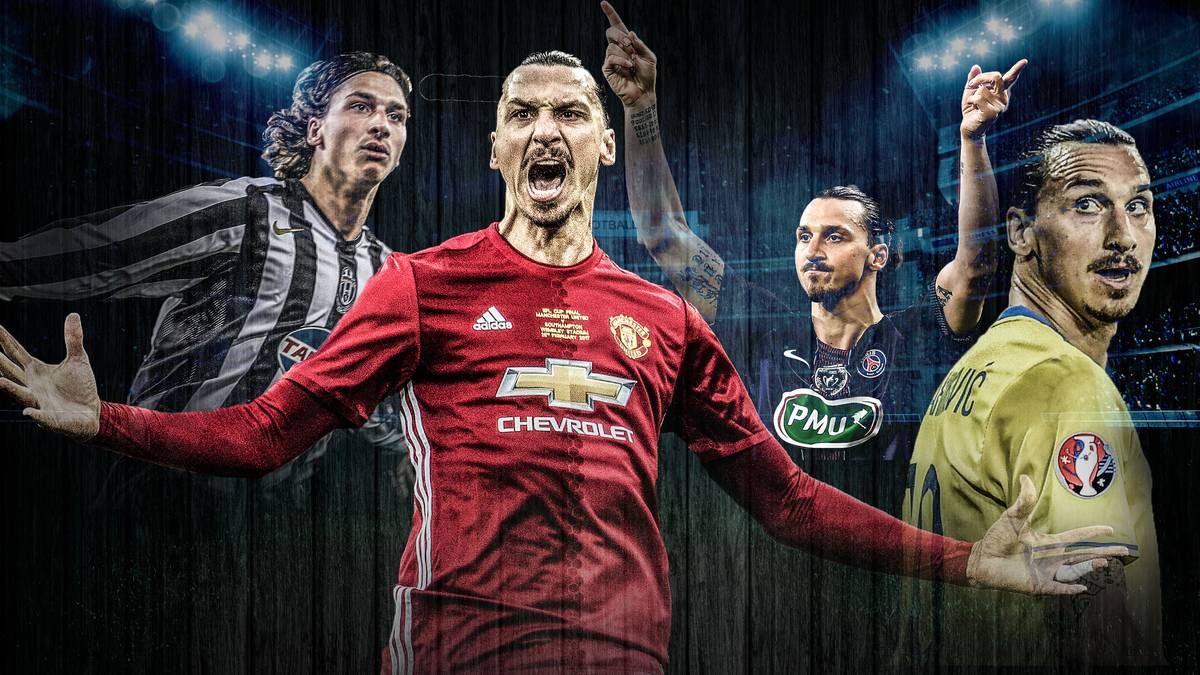 Zlatan Ibrahimovic hat seinen Vertrag bei Manchester United verlängert