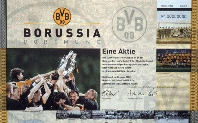 Borussia Dortmund ging im Jahr 2000 an die Börse