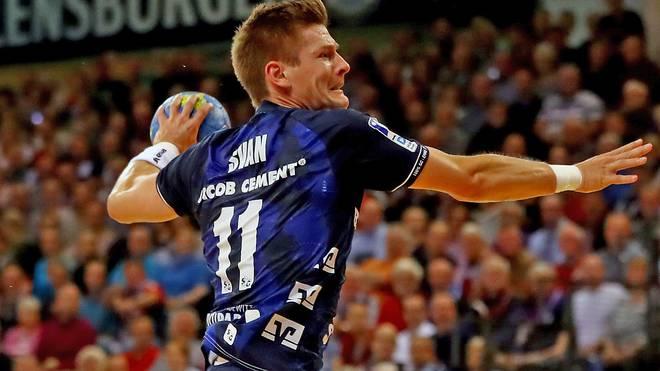 Rechtsaußen Lasse Svan spielt seit 2008 für Flensburg
