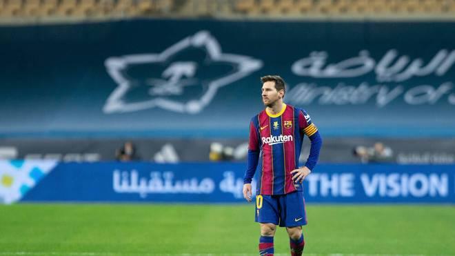 Lionel Messi fehlt dem FC Barcelona weiterhin gesperrt