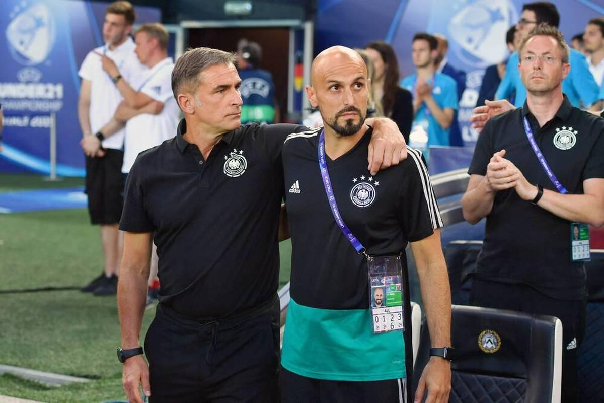 Antonio Di Salvo wird beim DFB als Nachfolger von Stefan Kuntz vorgestellt. Dabei kommt heraus, dass der neue Nationaltrainer der Türkei gerne sein komplettes Trainerteam mitnehmen wollte.
