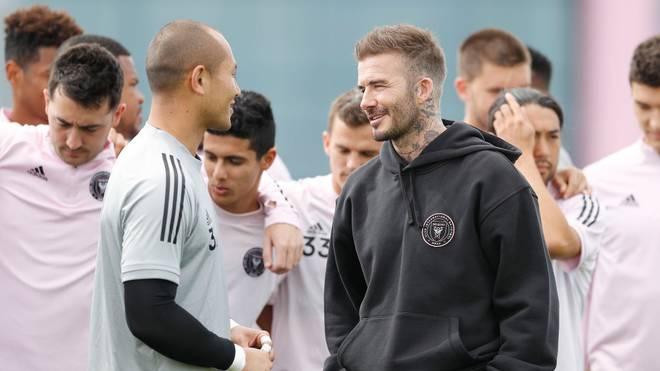 Auf der Suche nach Erfolg bei Inter Miami: David Beckham und Keeper Luis Robles