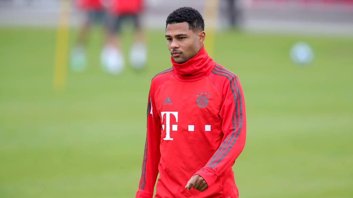 FC Bayern im Trainingslager: Serge Gnabry steigt wieder in Training ein