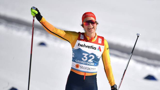 Laura Gimmler überzeugte beim Weltcup-Finale im Massenstart
