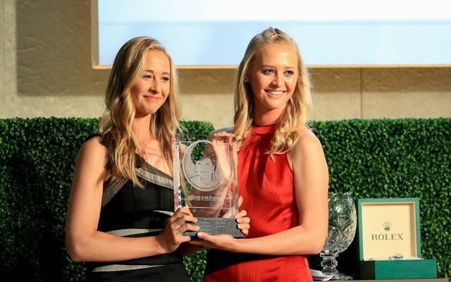 Jessica und Nelly Korda treten als erstes Geschwisterpaar gemeinsam beim Solheim-Cup an