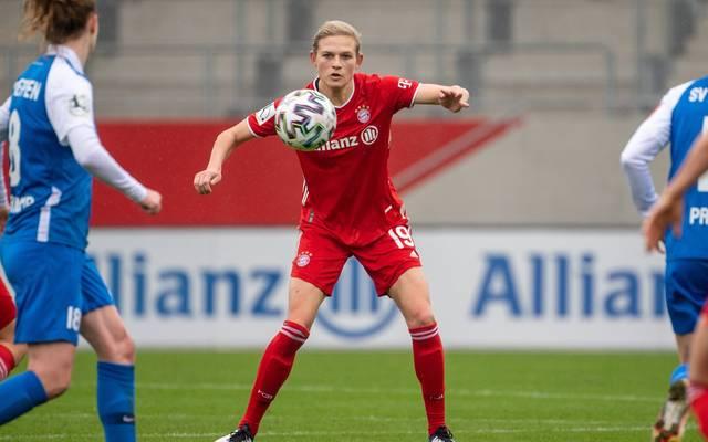 Carina Wenninger hat große Pläne mit dem FC Bayern